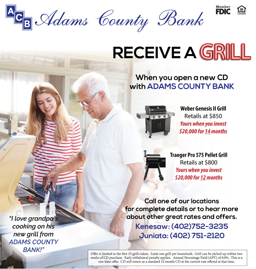 adams county bank grill ad